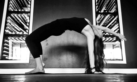 1 Month of Unlimited Hot Yoga Classes or a 10-Class Package at Studio543 Yoga Inferno (Up to 53% Off)