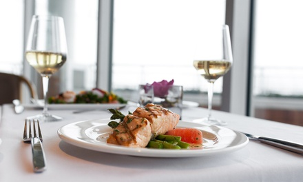 Three- or Four-Course Upscale Dinner for Two at Café Pacifica at Pan Pacific Hotel (50% Off)