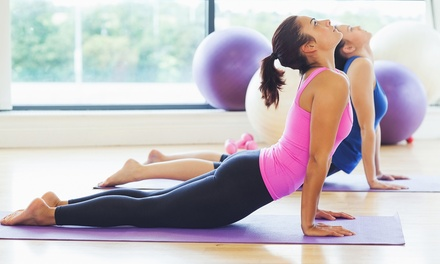 5 or 10 Classes, or One Month of Unlimited Classes at Blue Sol Yoga (Up to 55% Off)