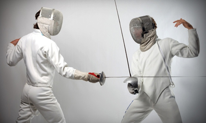 PDX Fencing - Raleigh West: One Month of Fencing Classes for One Adult, Two Adults, or One Kid at PDX Fencing (Up to 53% Off)