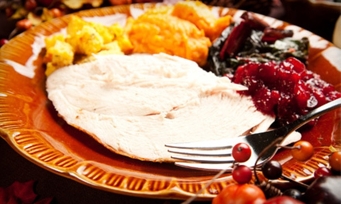 B. Beattys - Castleberry Hill: Catered Holiday Meal with Turkey or Ham, Side Dishes, Sauces, and Dessert for 6–10 or 12–15 from B. Beattys (Half Off)