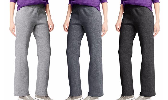 30e740c5d26 Hanes ComfortSoft Women s Fleece Sweatpants