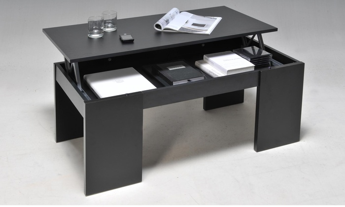 Table basse weber industries groupon for Groupon table basse