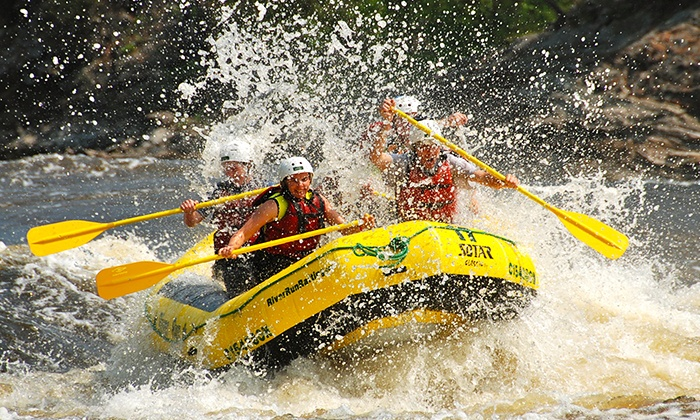 RiverRun Rafting & Wilderness Resort - Foresters Falls: High-Adventure Rafting Trip and Barbecue Lunch (Up to 45% Off). Two Options Available.