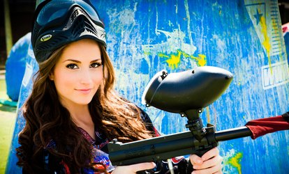 image for All-Day <strong>Paintball</strong> Package with Equipment Rental for 4, 8, or 12 from <strong>Paintball</strong> Tickets (Up to 88% Off)