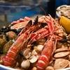 Nouvel an plateau de fruits de mer à emporter