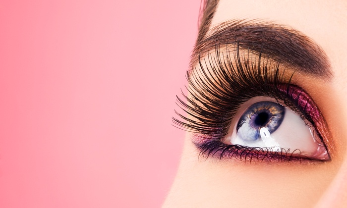 Simply Lashes - Halfmoon: Eyelash Extensions and One, Two, or Three Refills at Simply Lashes (Up to 63% Off)