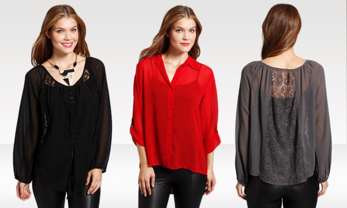 Classique Blouses: $24.99 for Classique Blouses ($84 List Price). Multiple Options Available. Free Shipping and Returns.