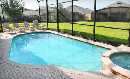 groupon daily deal - 2- or 3-Night Stay for Up to 10 at Advantage Vacation Homes in Kissimmee, FL. Combine Up to Six Nights.