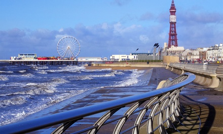 Blackpool: 24 Nights for Up to Three with Breakfast, Tea or Coffee and Biscuits at The Derwent Hotel, Summer Dates