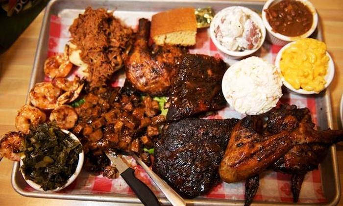 Bobbique - Patchogue: Pit Barbecue Dinner at Bobbique (Up to 45% Off)