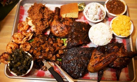 Pit Barbecue Dinner at Bobbique (Up to 45% Off)