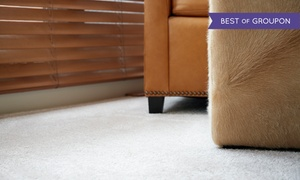 servicemaxx: Carpet Cleaning for Three or Five Rooms and Staircase or Hallway, or Whole House from servicemaxx (Up to 79% Off)