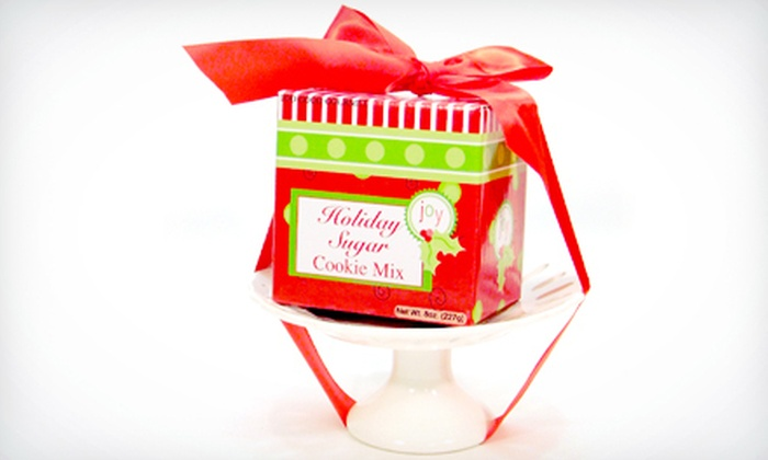 Too Good Gourmet: $12 for a Holiday Sugar-Cookie Mix from Too Good Gourmet ($24 Value)