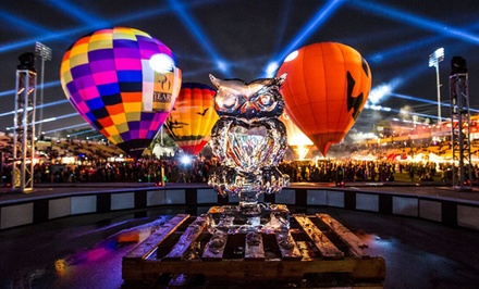 Two Tickets to Oktoberfest or Four Tickets to Hot-Air Balloon Festival at Owl-O-Ween (Up to 40% Off)