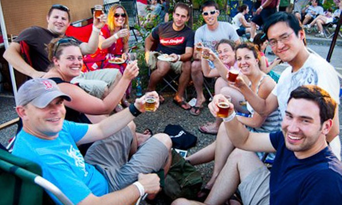 New England Brewfest - Lincoln: $25 for Admission with Beer Samples and Live Entertainment at New England Brewfest on June 29 in Lincoln ($40 Value)
