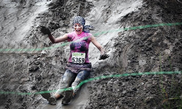 Survivor Mud Run - Van Vleck Ranch: Survivor Mud Run for One or Two on April 26 (Up to 50% Off)