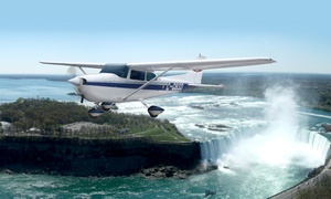 Niagara Falls Air Tours Inc.: Holiday Air Tour of Niagara for Two or Three People from Niagara Falls Air Tours Inc. (Up to 42% Off)