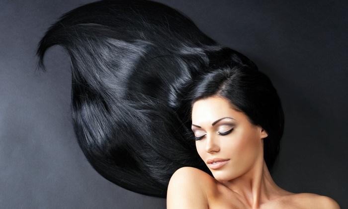 The SERI Hair Salon - Palisades Park: Basic Blowout, Japanese Perm, or Keratin Treatment at The SERI Hair Salon (Up to 53% Off)