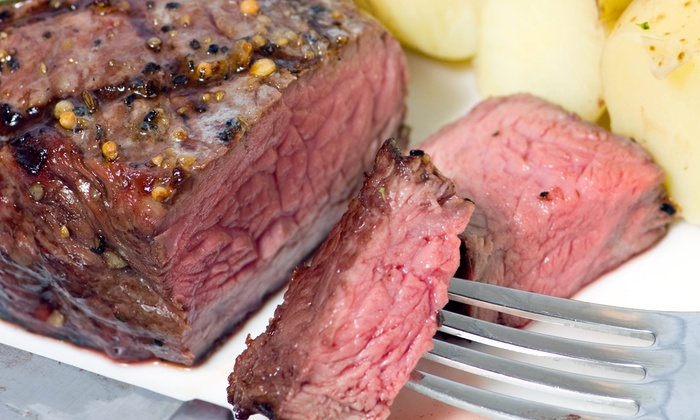Spettu's Steakhouse - Quincy: Brazilian Steakhouse Fare at Spettu's Steakhouse in Quincy (47% Off). Two Options Available.