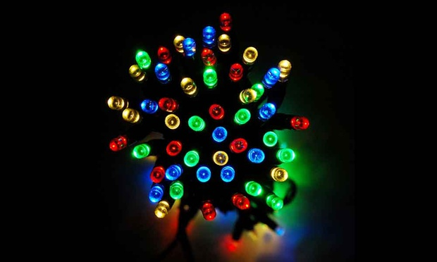 led solar powered fairy lights in choice of colour 15 19 25 29