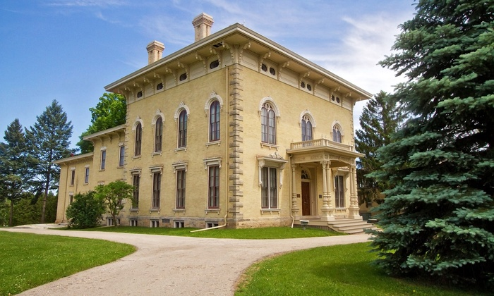 Rock County Historical Society - Janesville: Holiday Tour of Lincoln-Tallman House for 2, 4, or 6 at Rock County Historical Society (50% Off)