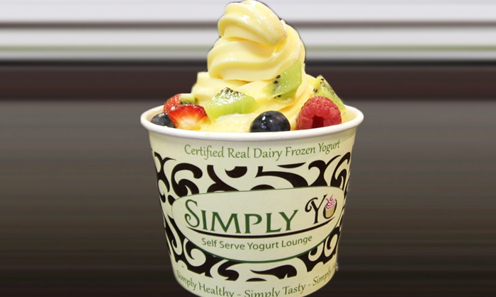 Simply Yo - Springfield: $5 for $10 Worth of Self-Serve Frozen Yogurt at Simply Yo