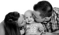 One-Hour Family Photoshoot with Prints and DVD Slideshow at Alan Price Photography (89% Off)