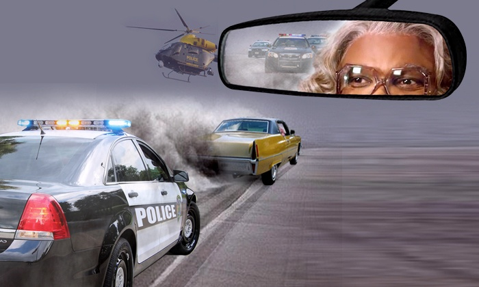 """Tyler Perry's Madea On The Run"" Starring Tyler Perry on November 19–22"