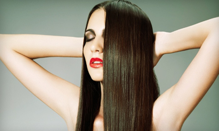 Paradise Salon & Spa - The Hammocks: $99 for a Keratin Hair-Straightening Treatment at Paradise Salon & Spa ($250 Value)