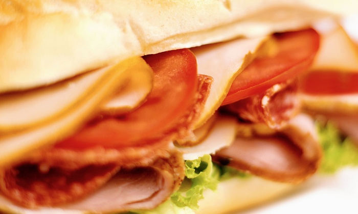 New York Deli - North College Park: Sandwiches and Salads at New York Deli (50% Off). Two Options Available.