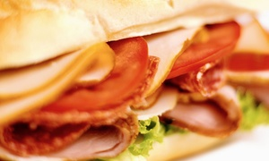 New York Deli: Sandwiches and Salads at New York Deli (50% Off). Two Options Available.
