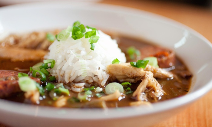 J. Gumbo's - Blue Ash: $8 for $15 Worth of Creole and Cajun Food for Two at J. Gumbo's