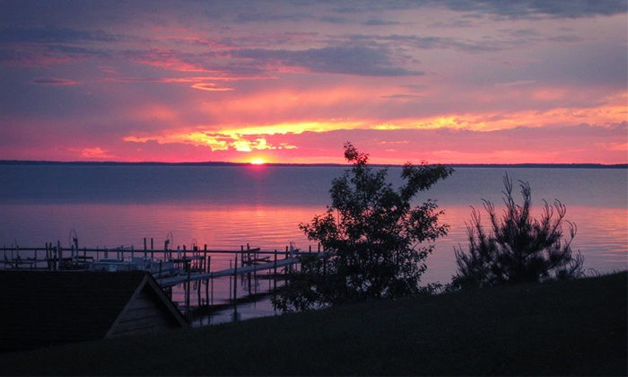 High Banks Resort - Deer River: Cabin-Stay Package at High Banks Resort (Up to 55% Off). Three Options Available.