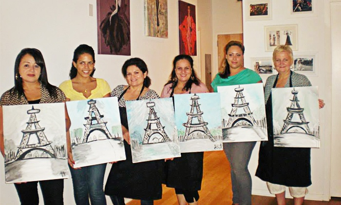 VIP Paints - Pilsen: BYOB Painting Class for One or Two at VIP Paints (Up to 46% Off)