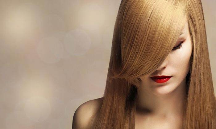 אסתטיק - מרכז יופי - אסתטיק - מרכז יופי: מרכז היופי היוקרתי אסתטיק בתלפיות: תספורת + פן ב-79 ₪ או חבילה הכוללת גם צבע רק ב-179 ₪. החלקות שיער החל מ-399 ₪ בלבד