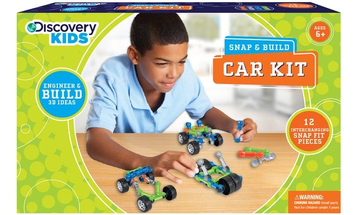 discovery kids car kit 12pcs groupon goods