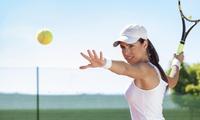 【最大31%OFF】日頃の運動不足を解消。テニスで気持ち良い汗を流そう≪1回分/テニススクール体験コース90分/他1メニュー≫ @6丁目...