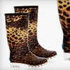 $24 for a Pair of Leopard-Print Rain Boots