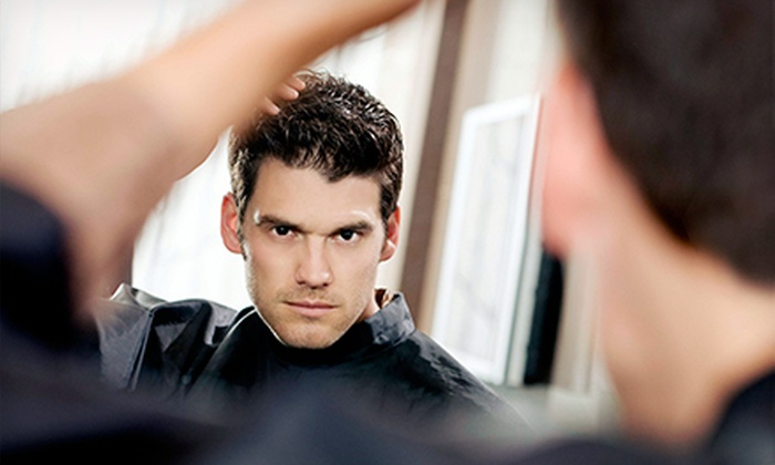 18|8 Fine Men's Salons - Multiple Locations: One or Two Men's Executive Haircuts with Optional Add-On Services at 18|8 Fine Men's Salons (Up to 57% Off)