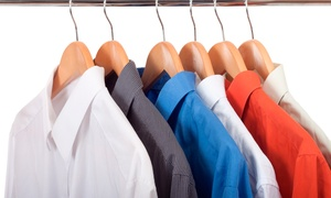 Brite Dry Cleaners: $29 for $40, $49 for $100 or $69 for $150 Toward Dry Cleaning with Pickup and Delivery Services at Brite Dry Cleaners