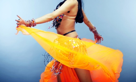 Four or Eight Intro-to-Belly-Dance Classes or Zumba Classes at Women's Bellydance Center (Up to 51% Off)