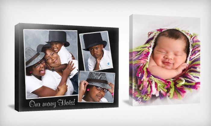 "Target Portrait Studio - Multiple Locations: $25 for Lifetouch Portrait Package with 16""x20"" Gallery-Wrap Print and Sitting Fees at Target Portrait Studio ($169.95 Value)"