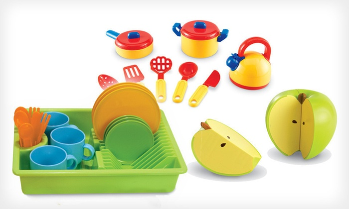 Learning Resources Culinary Sets: Learning Resources Culinary Sets (Up to 52% Off). Three Options Available.