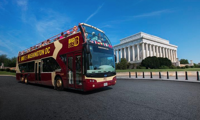 Big Bus Tours Washington DC - H Street - NoMa: One or Two 24-Hour Bus Tickets with Museum Admission from Big Bus Tours Washington DC (Up to 48% Off)