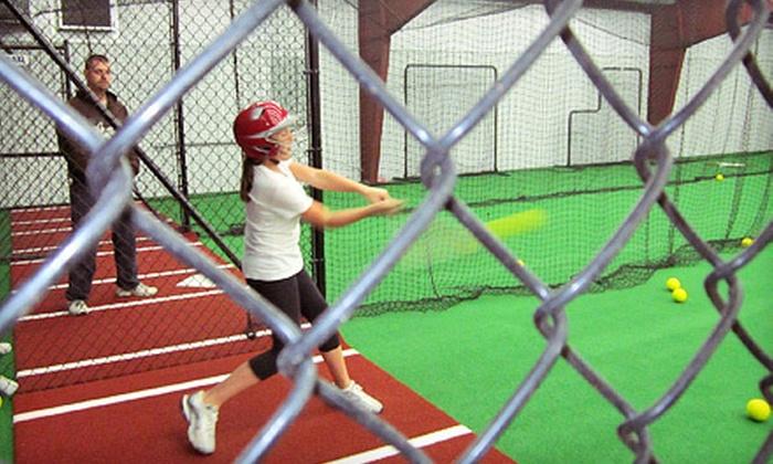 Wheelhouse Sports - Park City: 30 or 60 Minutes of Batting-Cage or Batting-Simulator Practice at Wheelhouse Sports (Up to 52% Off)