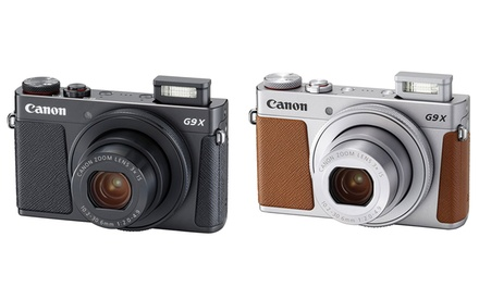 Canon PowerShot G9 X Mark II 20.1MP Digital Camera with WiFi