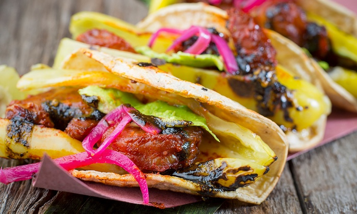 Kokopelli Chicago - Wicker Park: Gourmet Taco Dinner for Two, Four, or Six or Happy Hour for Four at Kokopelli Chicago (Up to 48%Off)