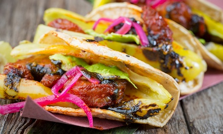 Gourmet Taco Dinner for Two, Four, or Six or Happy Hour for Four at Kokopelli Chicago (Up to 48%Off)