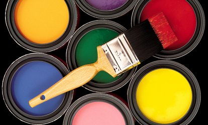 Interior or Exterior Painting from Professional Painting Services (Up to 50% Off). Three Options Available.